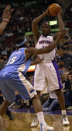 NBA BASKETBALL TORONTO RAPTORS VS. DENVER NUGGETS