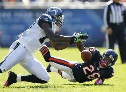 Bears Jennings breaks up pass against Seahawks in Chicago