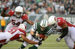 Jets vs Cardinals at MetLife Stadium in New Jersey