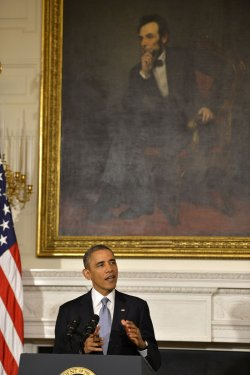 President Obama makes remarks on the reopening of the Federal government