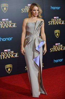Rachel McAdams attends 'Doctor Strange' world premiere
