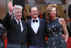 The team from Twin Peaks attends the Cannes Film Festival