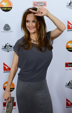Kelly Preston attends G'Day USA gala in Los Angeles