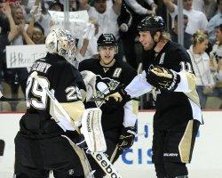 Penguins vs Flyers in Pittsburgh