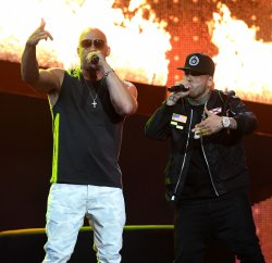 Vin Diesel and Nicky Jam Perform at the 2017 Billboard Latin Music Awards