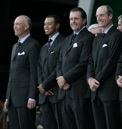 OPENING CEREMONY FOR THE RYDER CUP