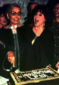 lena horne celebrates 80th birthday