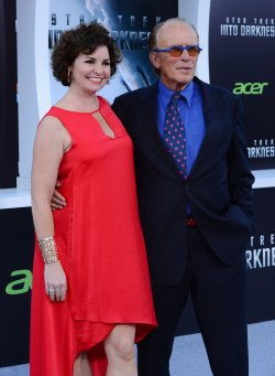 "Peter Weller and Shari Stowe attend the ""Star Trek into Darkness"" premiere in Los Angeles"