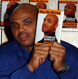 "Charles Barkley promos his new book ""I May Be Wrong But I Doubt It"""