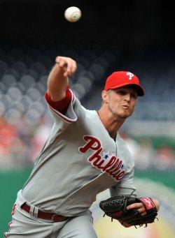 Philadelphia Phillies Kyle Kendrick in Washington