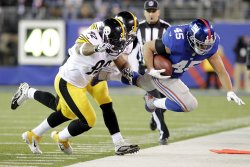 Pittsburgh Steelers at New York Giants