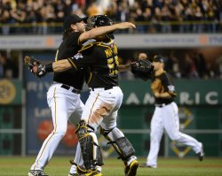 Cincinnati Reds at Pittsburgh Pirates in Wildcard Game in Pittsburgh
