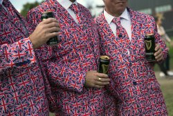 Golf Fans at the Ryder Cup