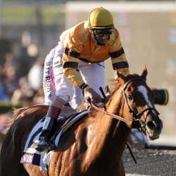 Wise Dan and Velazquez win the Breeders' Cup Mile in California