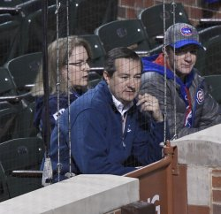 Cubs owner Ricketts watches NLCS against Dodgers