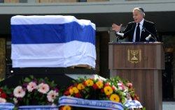 Ariel Sharon Memorial Service At Knesset, Jerusalem