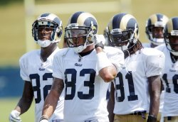 St. Louis Rams training camp