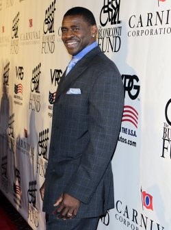 Michael Irvin at the Buoniconti Fund Dinner to Cure Paralysis at the Waldorf Astoria in New York
