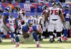 Atlanta Falcons vs. New York Giants