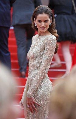 Izabel Goulart attends the Cannes Film Festival