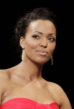 Aisha Tyler at The Heart Truth's Red Dress Fall 2012 Collections at Mercedes-Benz Fashion Week In New York
