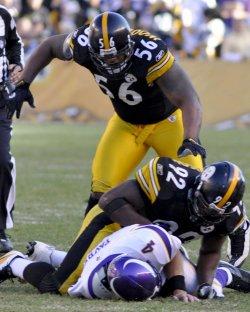 Pittsburgh Steelers versus Minnesota Vikings in Pittsburgh