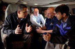 U.S. President Obama tours oil spill disaster in Louisiana