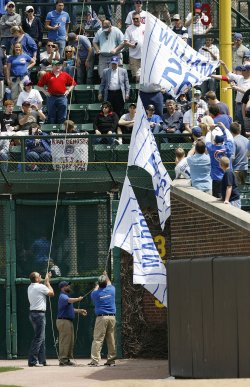 Former Chicago Cubs Pitchers Greg Maddux and Ferguson Jenkens Number Retired in Chicago