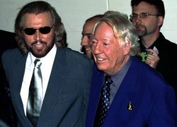 """The Bee Gees attend Broadway premiere """"Saturday Night Fever"""" the stage version"""