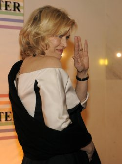 Diane Sawyer attends 2011 Kennedy Center Honors in Washington DC