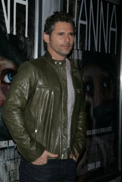 "Eric Bana arrives for the premiere of ""Hanna"" at the Regal Theater in New York"