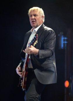 Rush performs in concert in Sunrise, Florida