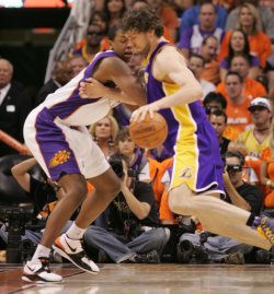 NBA Western Conference Finals, Los Angeles Lakers at Phoenix Suns