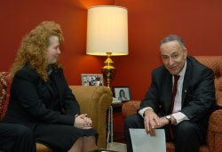 "Sen. Schumer meets with new ""Air Czar"" in Washington"