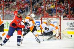 Washington Capitals vs Philadelphia Flyers in Washington