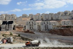 Construction In Betar Illit Settlement, West Bank