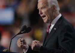 Vice President Joe Biden speaks at DNC