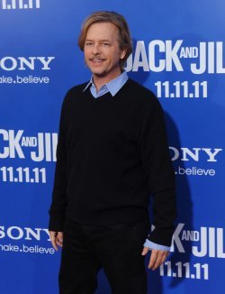 """David Spade attends the """"Jack and Jill"""" premiere in Los Angeels"""