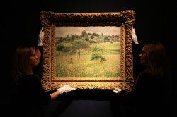 Elizabeth Taylor's Pissarro at Christie's