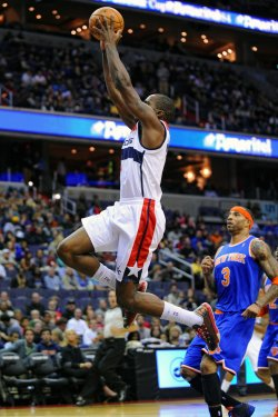 Washington Wizards vs New York Knicks in Washington