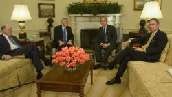BUSH MEETS WITH PANEL TO CONSIDER TAX REFORM