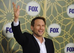 Christian Slater attends the Fox Press Tour All-Star Party in Pasadena, California