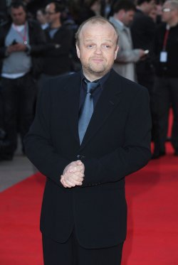 "Toby Jones attends the premiere of ""The Hunger Games"" in London"