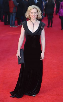 """Anne-Marie Duff attends """"The Olivier Awards 2012"""" in London"""