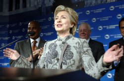 SENATOR CLINTON SPEAKS AT U.S. CONFERENCE OF MAYORS