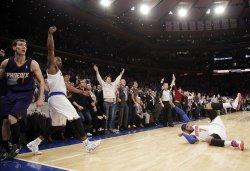 New York Knicks vs Phoenix Suns