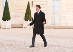 Justin Trudeau in Paris for Security and Climate Talks