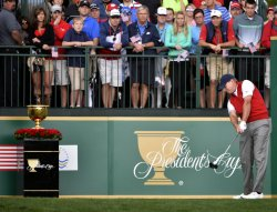 2013 Presidents Cup Fifth Round at Muirfield Village Golf Club in Dublin, Ohio