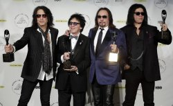 29th annual Rock and Roll Hall of Fame Induction press room
