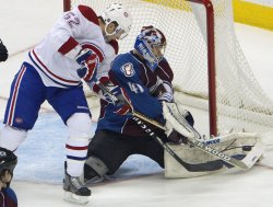 Avalanche Goalie Anderson Stops Canadiens Darche in Denver
